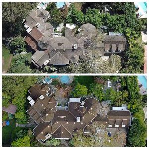 Celebrity Home Dual Aerial View 2